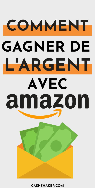Comment gagner de l'argent avec Amazon en 2020 ? Les 6 meilleurs opportunités ! Pinterest