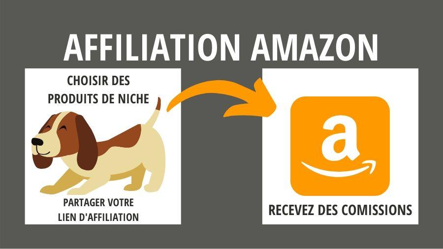 gagner de l'argent avec Amazon affiliation