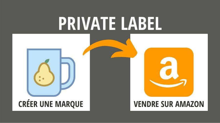 gagner de l'argent avec Amazon private label